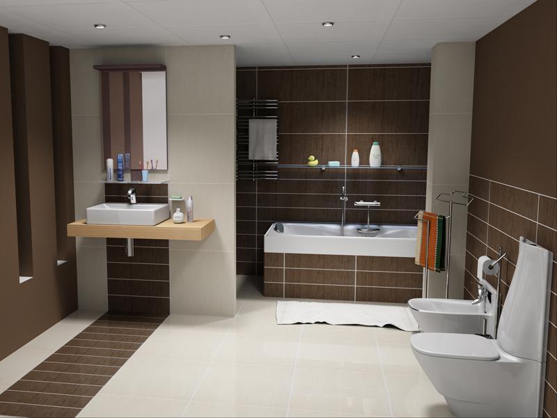 Cuartos De Baño Con Ducha Fotos:Un gran cuarto de baño, donde la ducha se oculta de forma discreta