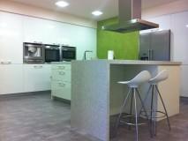 Integración de una cocina - comedor - salón