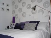 Dormitorio con aire chic